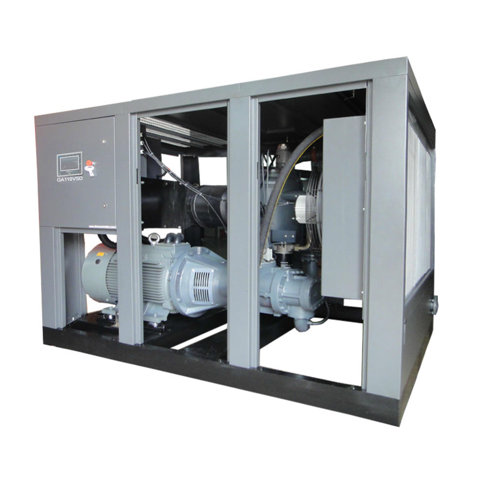 GA110VSD Oil Injected Variable Speed Rotary Screw Air Compressor