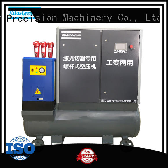 Atlas Greenair Screw Air Compressor best vsd compressor atlas copco company customization