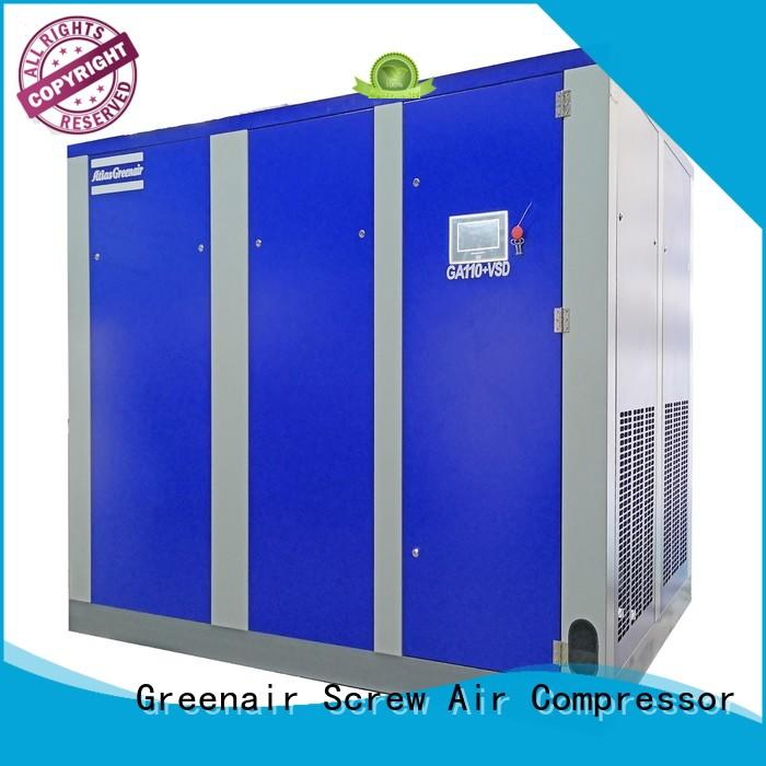 Atlas Greenair Screw Air Compressor vsd compressor atlas copco with a single air compressor customization
