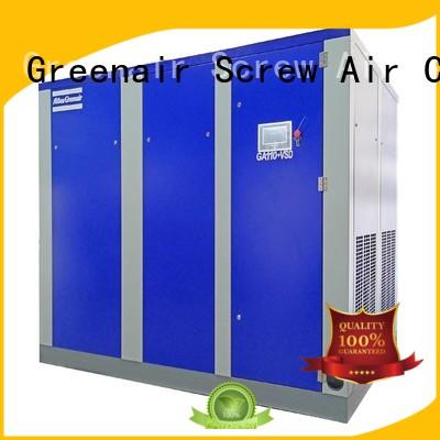Atlas Greenair Screw Air Compressor custom vsd compressor atlas copco with four pole motor customization