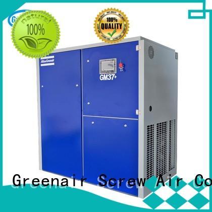 Atlas Greenair Screw Air Compressor vsd compressor atlas copco with a single air compressor for tropical area
