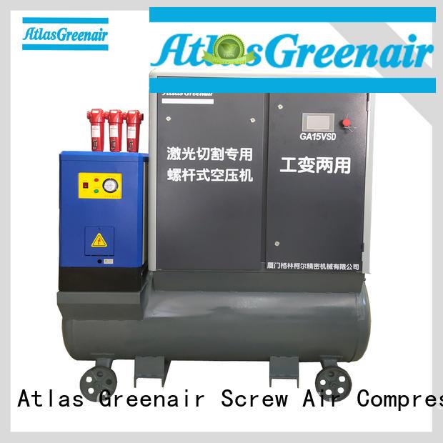 Atlas Greenair Screw Air Compressor two stage vsd compressor atlas copco supplier customization
