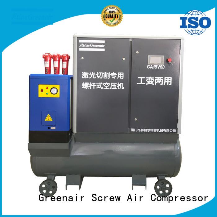Atlas Greenair Screw Air Compressor vsd compressor atlas copco manufacturer for tropical area