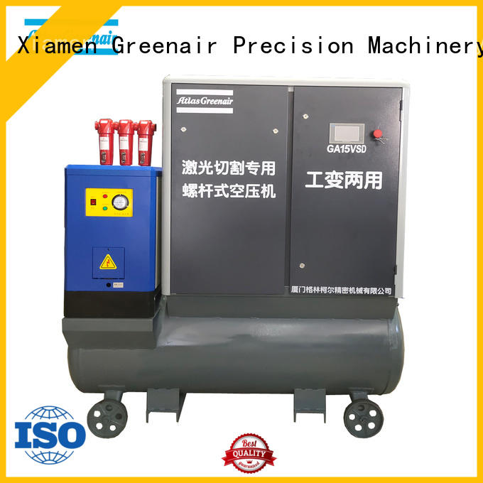 two stage air compressors variable speed with four pole motor for tropical area