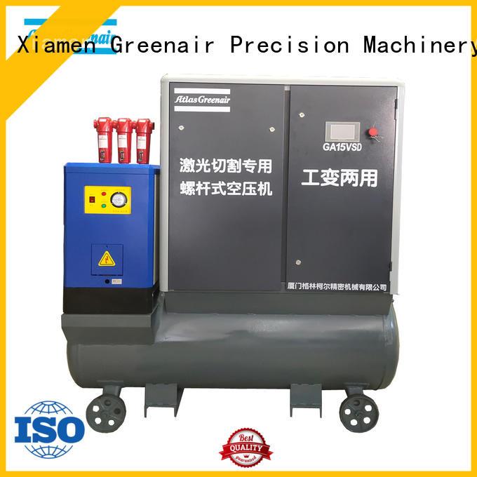 ga variable speed air compressor with four pole motor for sale Atlas Greenair Screw Air Compressor