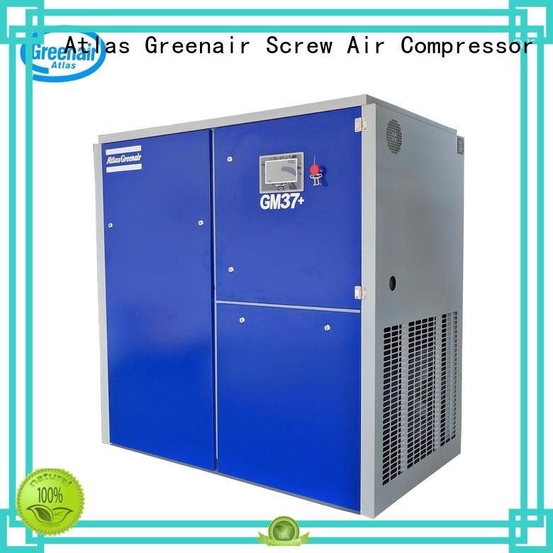 Atlas Greenair Screw Air Compressor variable speed air compressor for busniess customization