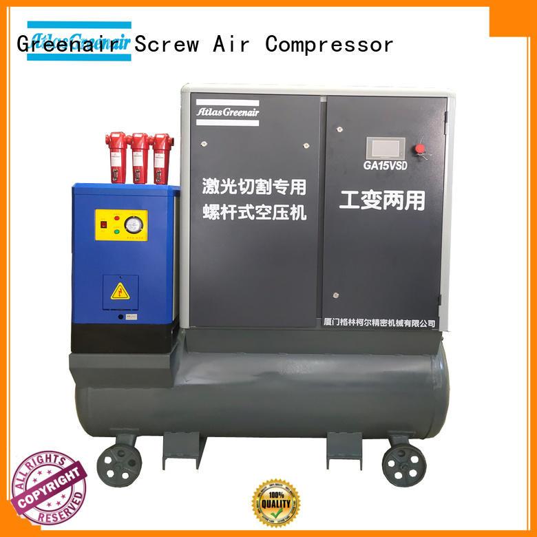 Atlas Greenair Screw Air Compressor vsd compressor atlas copco with an asynchronous motor customization