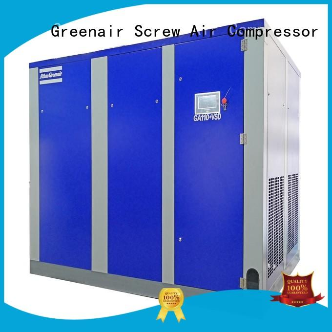 GA110+VSD Two Stage Variable Speed Rotary Screw Air Compressor
