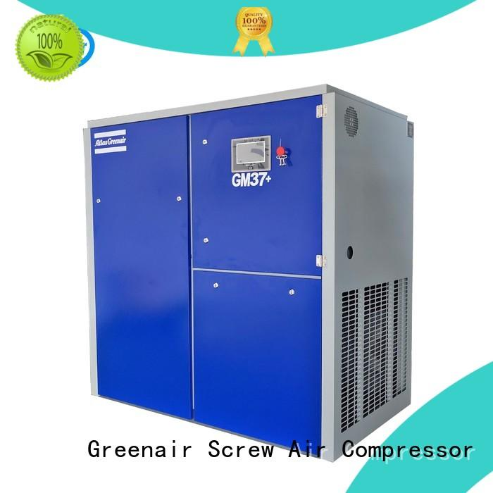 Atlas Greenair Screw Air Compressor variable speed air compressor manufacturer for tropical area