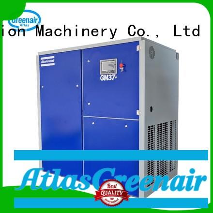 Atlas Greenair Screw Air Compressor new variable speed air compressor for busniess for tropical area