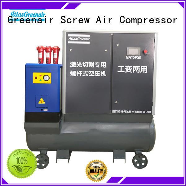 Atlas Greenair Screw Air Compressor top vsd compressor atlas copco factory customization