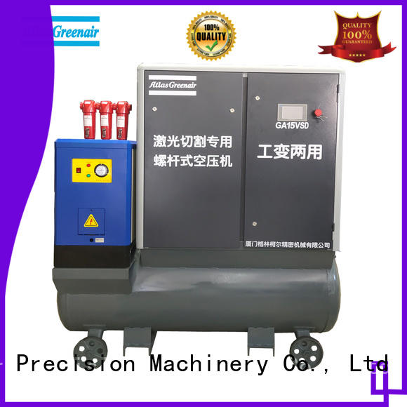 Atlas Greenair Screw Air Compressor two stage variable speed air compressor with a single air compressor customization
