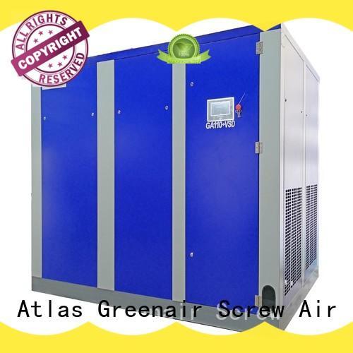 Atlas Greenair Screw Air Compressor variable speed air compressor supplier customization