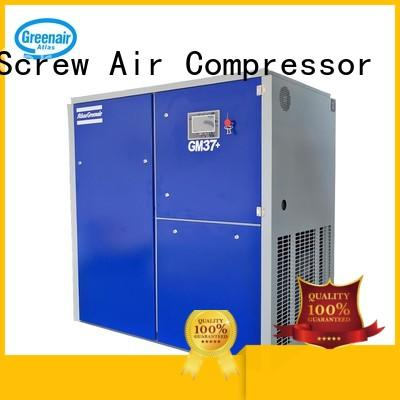 Atlas Greenair Screw Air Compressor high quality vsd compressor atlas copco with an asynchronous motor for sale