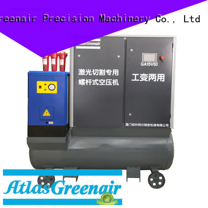 Atlas Greenair Screw Air Compressor variable speed air compressor for busniess for tropical area