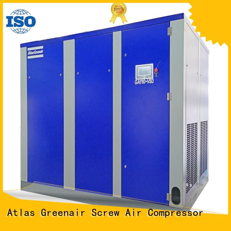 Atlas Greenair Screw Air Compressor new variable speed air compressor for busniess for sale
