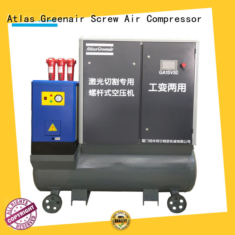 latest vsd compressor atlas copco with a single air compressor customization