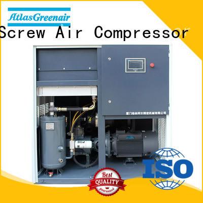 Atlas Greenair Screw Air Compressor variable speed air compressor factory customization