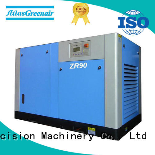 Atlas Greenair Screw Air Compressor oil free rotary screw air compressor company for tropical area