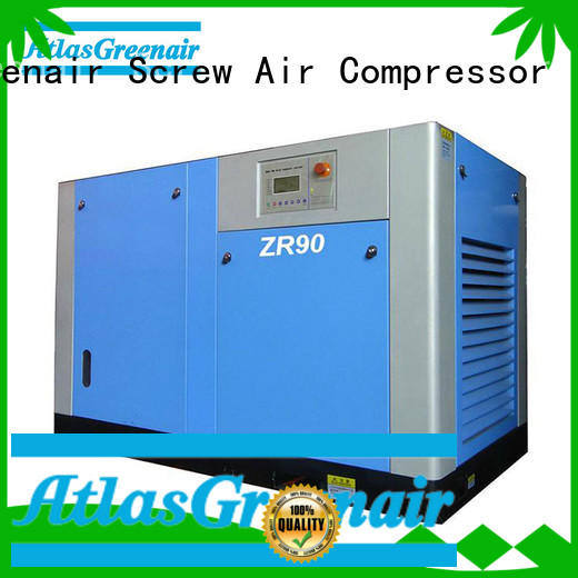 Atlas Greenair Screw Air Compressor efficient oil free rotary screw air compressor zr for sale
