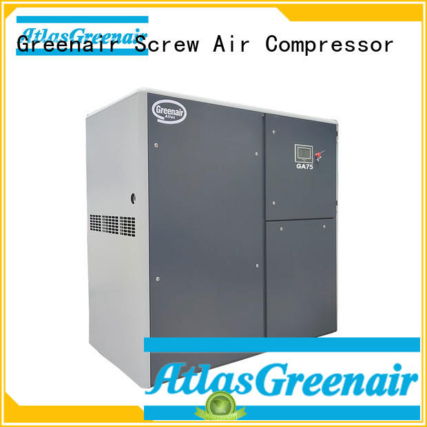 fixed speed rotary screw air compressor manufacturer for tropical area Atlas Greenair Screw Air Compressor