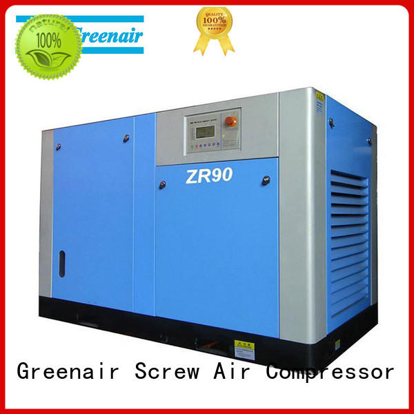 high quality oil free rotary screw air compressor manufacturer customization