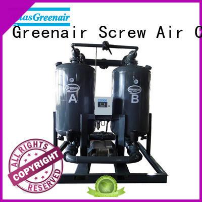 Atlas Greenair Screw Air Compressor adsorption air dryer with a special silencer for a high precision operation