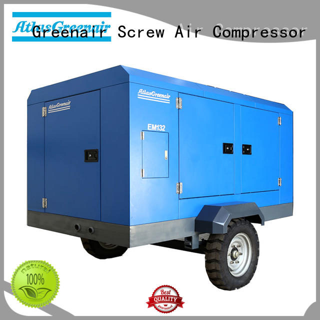 Atlas Greenair Screw Air Compressor efficient electric rotary screw air compressor with intelligent control system for sale