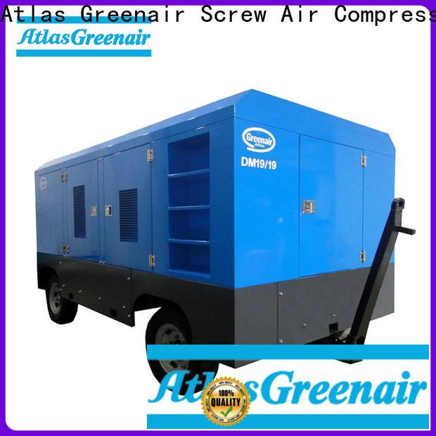 Atlas Greenair Screw Air Compressor best mobile air compressor factory for tropical area