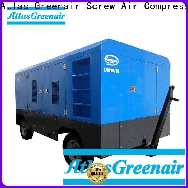 Atlas Greenair Screw Air Compressor best mobile air compressor factory for tropical area
