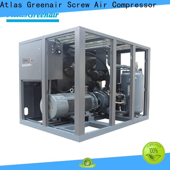 custom fixed speed rotary screw air compressor manufacturer for tropical area