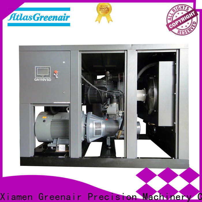Atlas Greenair Screw Air Compressor two stage vsd compressor atlas copco factory for tropical area