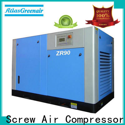 Atlas Greenair Screw Air Compressor oil free rotary screw air compressor with no lubrication oil customization
