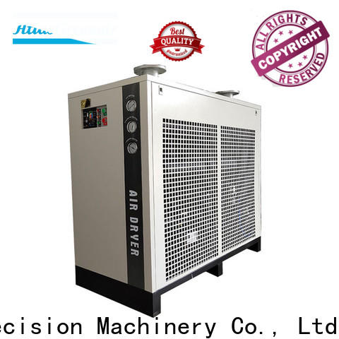 Atlas Greenair Screw Air Compressor top refrigerated air dryer with a superior electronic drain valve for tropical area
