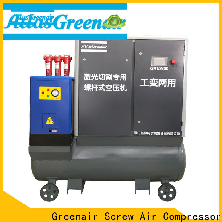 Atlas Greenair Screw Air Compressor vsd compressor atlas copco with four pole motor customization