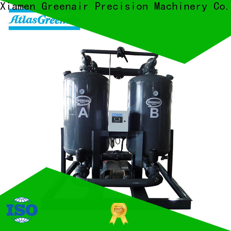 high end desiccant dryer supplier for a high precision operation