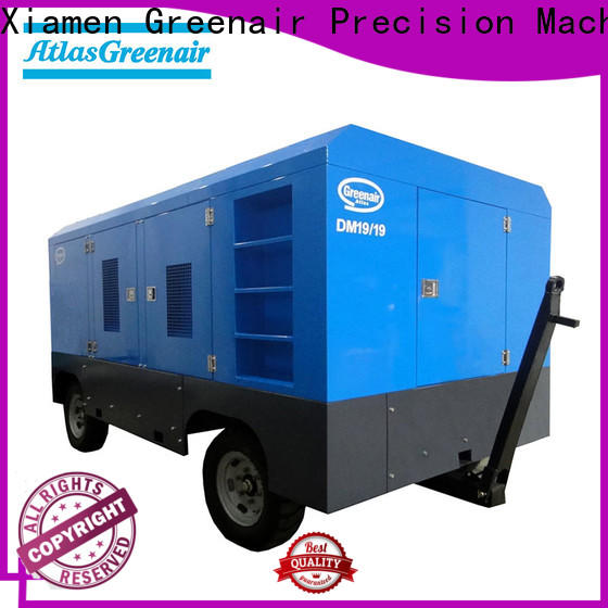 high quality portable diesel air compressor company for sale