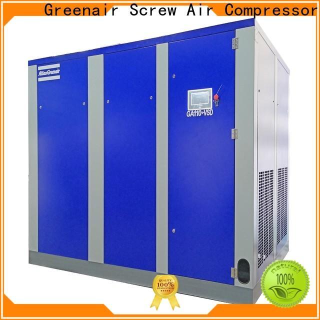 Atlas Greenair Screw Air Compressor high quality variable speed air compressor with a single air compressor for sale