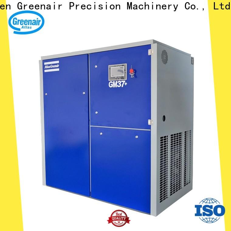 Atlas Greenair Screw Air Compressor top variable speed air compressor manufacturer for sale