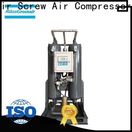 Atlas Greenair Screw Air Compressor latest compressed air dryer supplier for sale