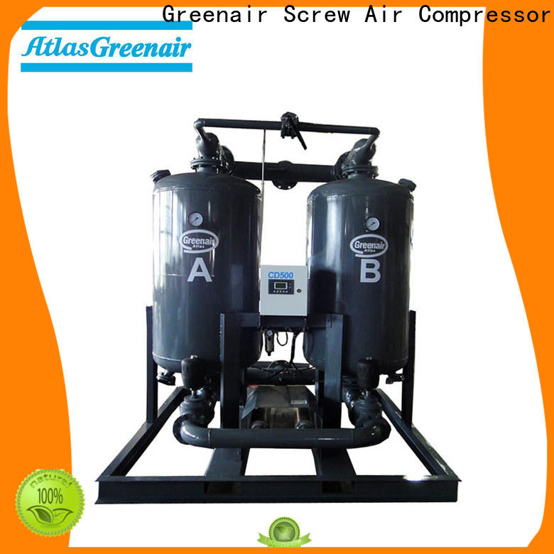 Atlas Greenair Screw Air Compressor adsorption air dryer for busniess for tropical area