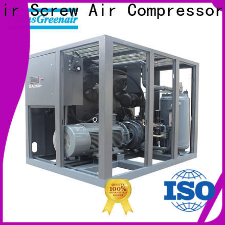 custom atlas copco screw compressor for busniess for tropical area