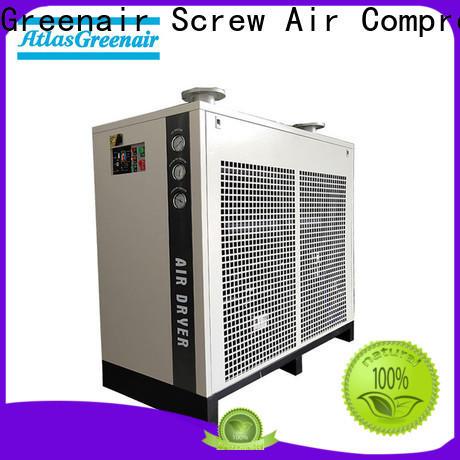 Atlas Greenair Screw Air Compressor air dryer for compressor supplier for tropical area