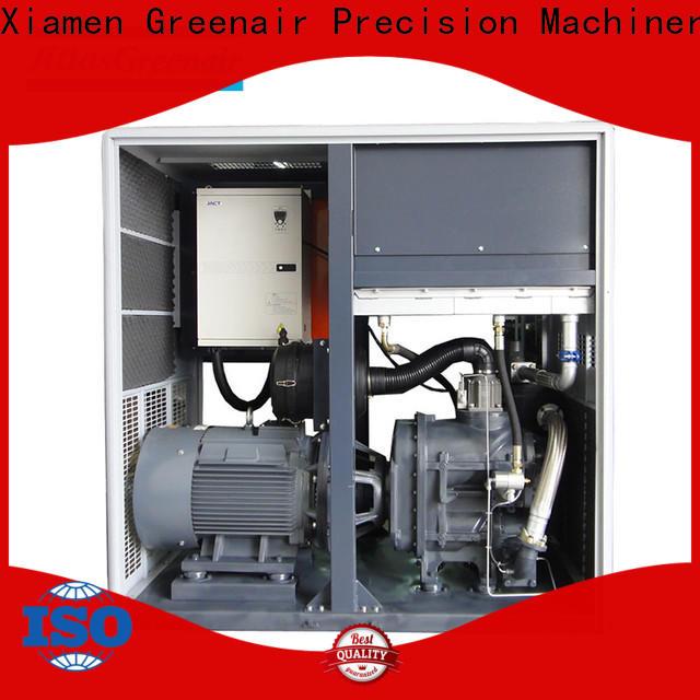 Atlas Greenair Screw Air Compressor professional variable speed air compressor with a single air compressor for tropical area