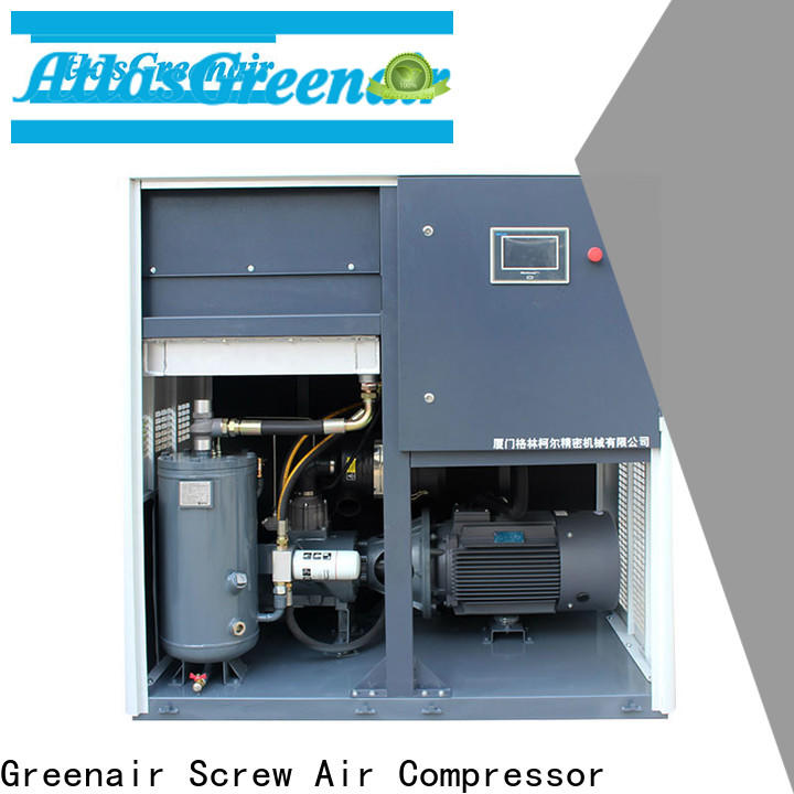 Atlas Greenair Screw Air Compressor vsd compressor atlas copco with four pole motor for tropical area