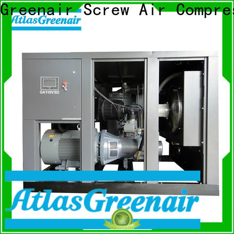 Atlas Greenair Screw Air Compressor latest variable speed air compressor supplier for tropical area