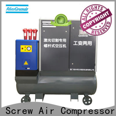 Atlas Greenair Screw Air Compressor professional variable speed air compressor with a single air compressor customization