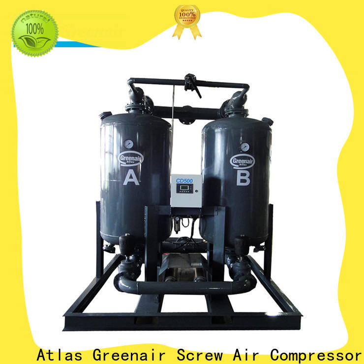 high end adsorption air dryer with a special silencer for a high precision operation