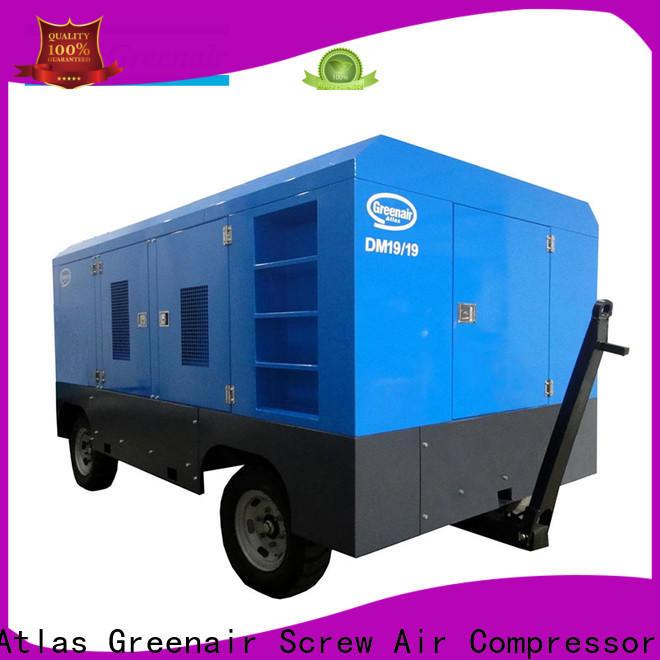 Atlas Greenair Screw Air Compressor mobile air compressor manufacturer design