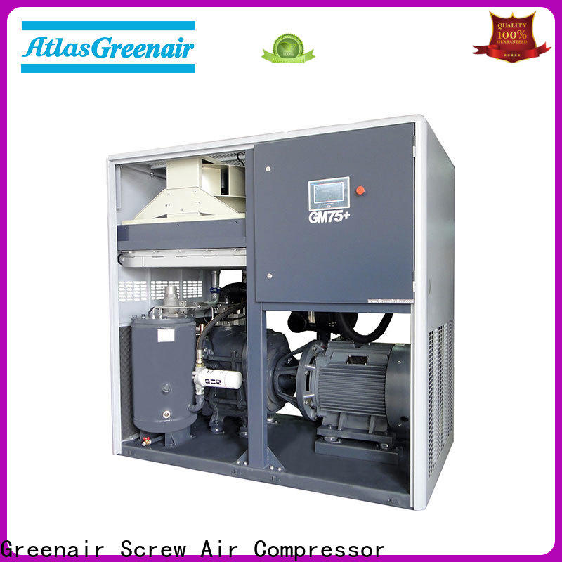 Atlas Greenair Screw Air Compressor top variable speed air compressor factory for sale
